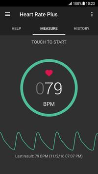 Heart Rate Plus plakat