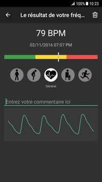 Rythme Cardiaque Plus capture d'écran 1