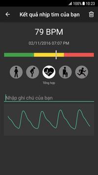 Đo nhịp tim ảnh chụp màn hình 1