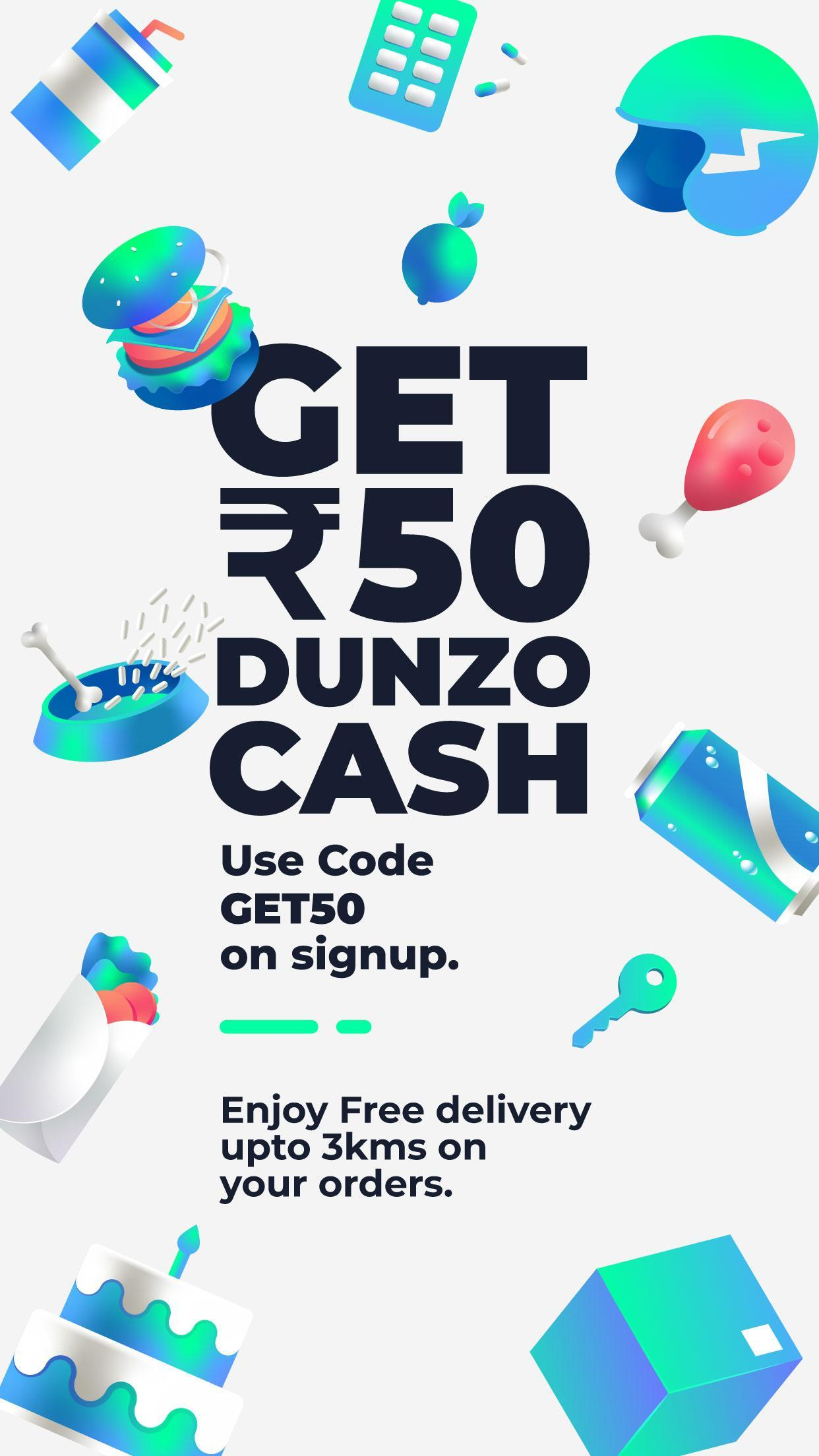 Dunzo | Delivery App for Food, Grocery & more for Android