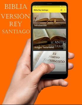 Biblia del Rey Santiago en Español Gratis poster