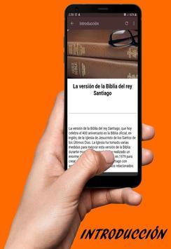 Biblia del Rey Santiago en Español Gratis screenshot 1