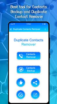 Duplicate Contacts Fixer and Contact Remover poster