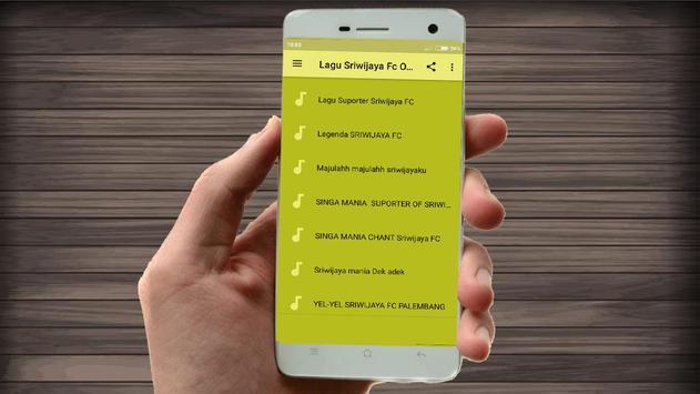 Lagu Sriwijaya Fc Lengkap screenshot 3