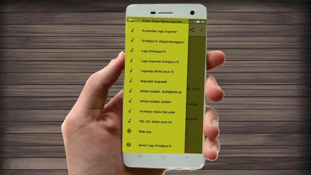 Lagu Sriwijaya Fc Lengkap screenshot 4