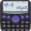 حاسبة FXs 350es 84+ آلة حاسبة الخطيئة كوس تان أيقونة