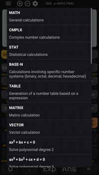 Fx Calculator 350es 84+ calculator sin cos tan screenshot 1