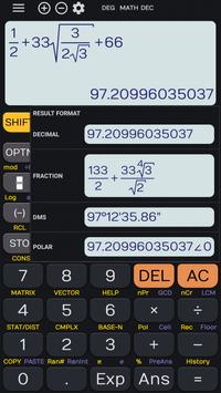 Fx Calculator 350es 84+ calculator sin cos tan screenshot 5