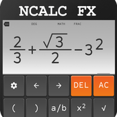 School scientific calculator 500 es plus 500 ms icon