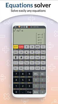 School scientific calculator 500 es plus 500 ms screenshot 1