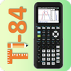 Graphing calculator ti 84 - simulate for es-991 fx 图标