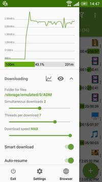 Advanced Download Manager screenshot 1