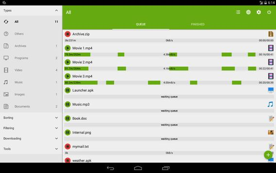 Advanced Download Manager & Torrent downloader screenshot 9