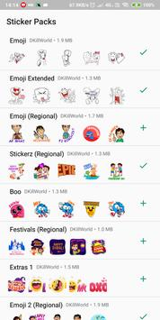 Ultimate Stickers for WhatsApp : WAStickerApps poster