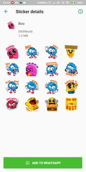 Ultimate Stickers for WhatsApp : WAStickerApps screenshot 1