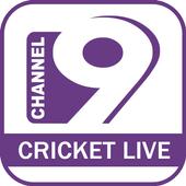Channel 9 Cricket live icon