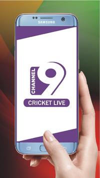 Channel 9 Cricket live poster