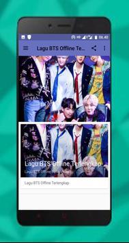 Lagu BTS Offline Lengkap screenshot 12