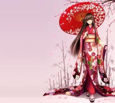 Kimono Anime Wallpapers screenshot 6