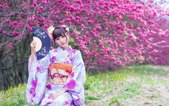 Kimono Anime Wallpapers screenshot 3