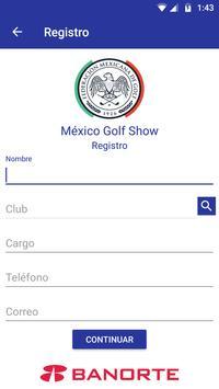 México Golf Show screenshot 1