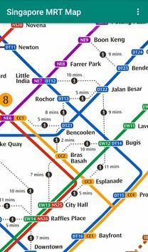 Singapore MRT and LRT Map (Offline) screenshot 1