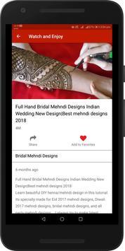 Simple Easy Mehndi Designs Videos : Arabic, Indian screenshot 3