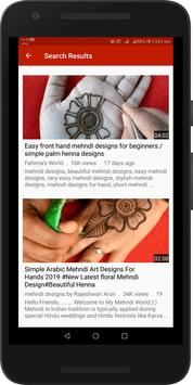 Simple Easy Mehndi Designs Videos : Arabic, Indian screenshot 5