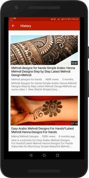 Simple Easy Mehndi Designs Videos : Arabic, Indian screenshot 6