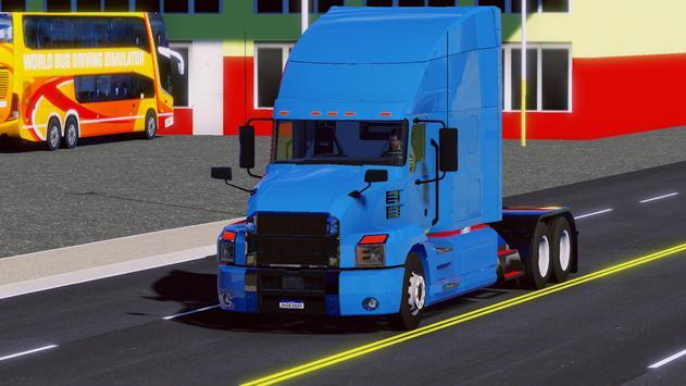 World Truck Driving Simulator Cartaz