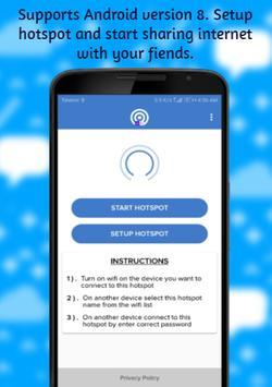 Share Mobile Internet - Portable Wifi Hotspot screenshot 3
