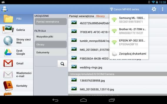 Mobilny druk PrintHand screenshot 15