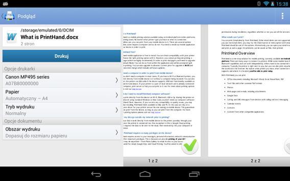 Mobilny druk PrintHand screenshot 17