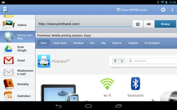 Mobilny druk PrintHand screenshot 20