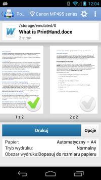 Mobilny druk PrintHand screenshot 3