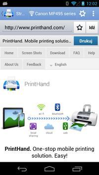 Mobilny druk PrintHand screenshot 5