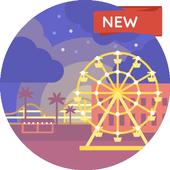 Amusement park Wallpapers HD 4K icon