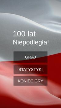 100 Lat Niepodległa! poster