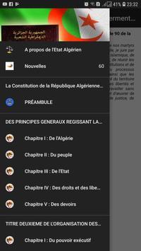 Constitution Algérienne poster