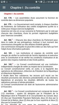 Constitution Algérienne screenshot 7