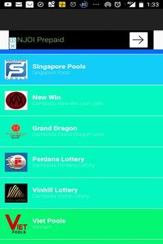 Perdana lottery result