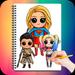 Drawing Cute Chibi Super Heroes