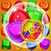 Candy forest fantasy icon