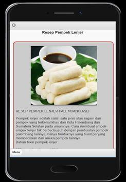 Pempek Khas Palembang screenshot 1