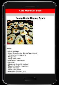 Resep Menu Sushi screenshot 10