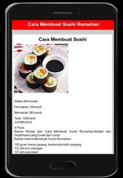 Resep Menu Sushi screenshot 1