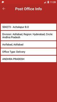 Indian Post Pincode Finder screenshot 4