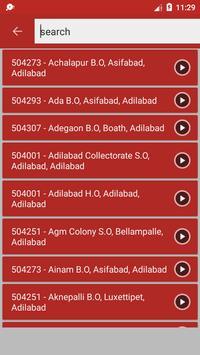 Indian Post Pincode Finder screenshot 1