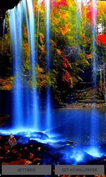Waterfall Magic Live Wallpaper poster