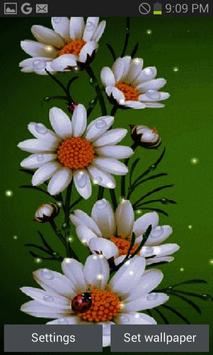 White Flowers Beauty LWP poster